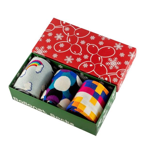 Set cadou de șosete Ballonet Socks Bubbles, mărimea 36-40
