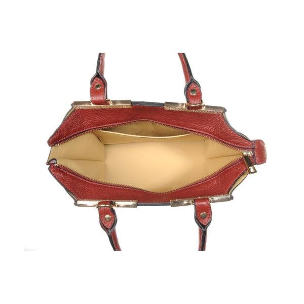Kožená kabelka Fashion Bag Red