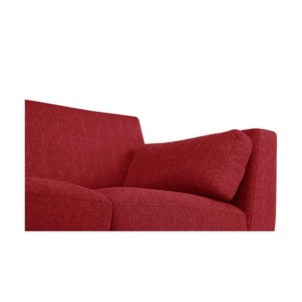 Sada červeného křesla a dvoumístné a trojmístné pohovky Jalouse Maison Elisa