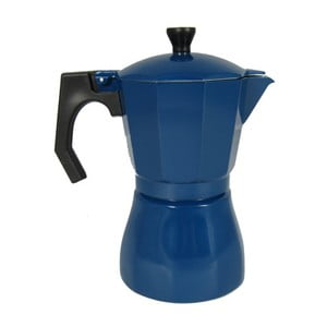 Modrá moka konvička JOCCA Coffee Maker, 385 ml