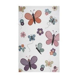 Dětský koberec Eco Rugs Butterfly, 120x180cm