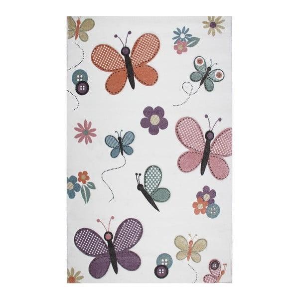 Dětský koberec Garida Butterfly, 120x180cm