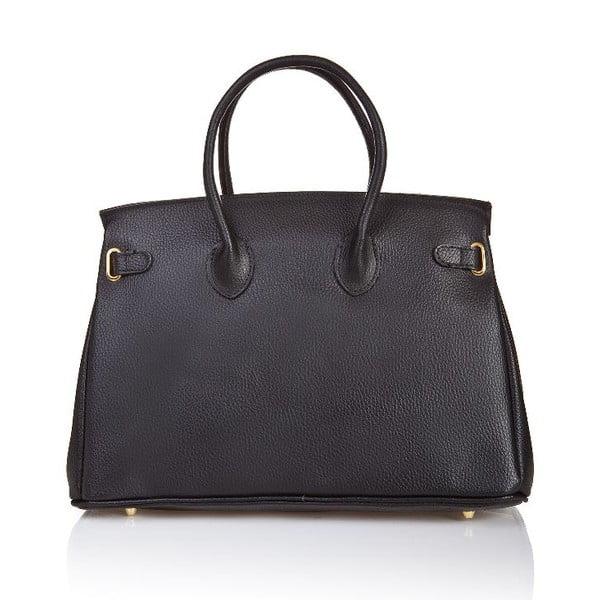 Kožená kabelka Bella Black