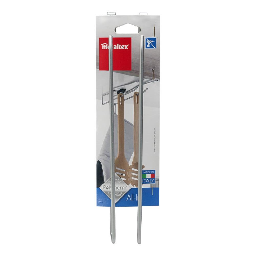 Závěsný držák na hrníčky, skleničky či kuchyňské utěrky Metaltex, délka 8 cm