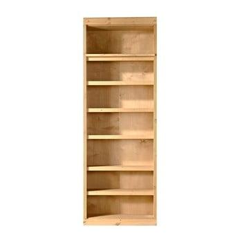 Bibliotecă de lemn de pin Støraa Bailey, 83 x 213 cm de la Støraa