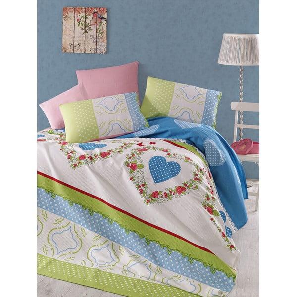 Přehoz přes postel Pique 202, 200x235 cm