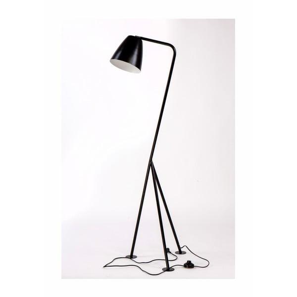 Omega fekete fém állólámpa - Nørdifra