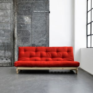 Rozkládací pohovka Karup Fresh Natural/Red