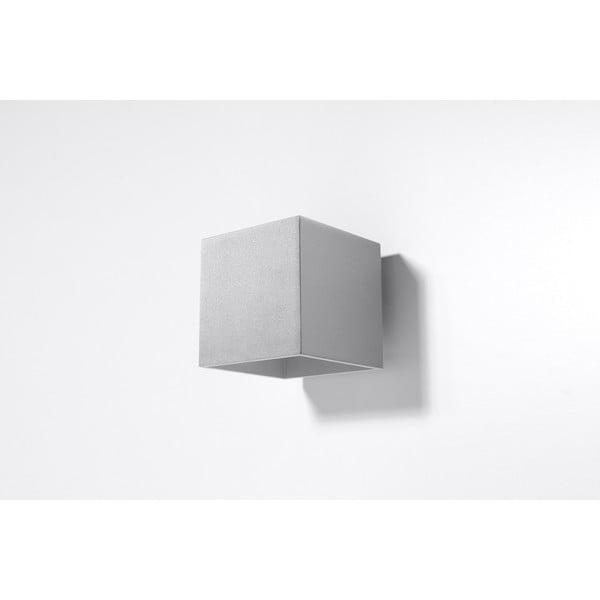 Šedé nástěnné svítidlo Nice Lamps Geo