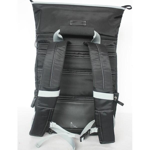 Velký batoh na kolo TUbí, černá/šedá