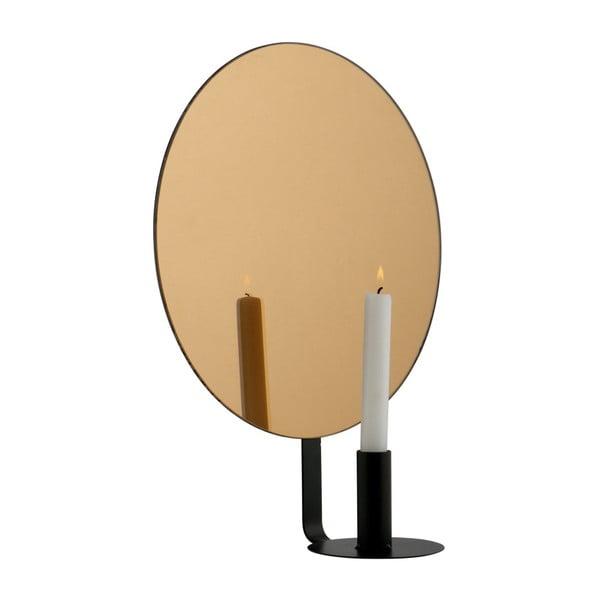 Nástěnný svícen s dekorativním zrcadlem De Eekhoorn Emily