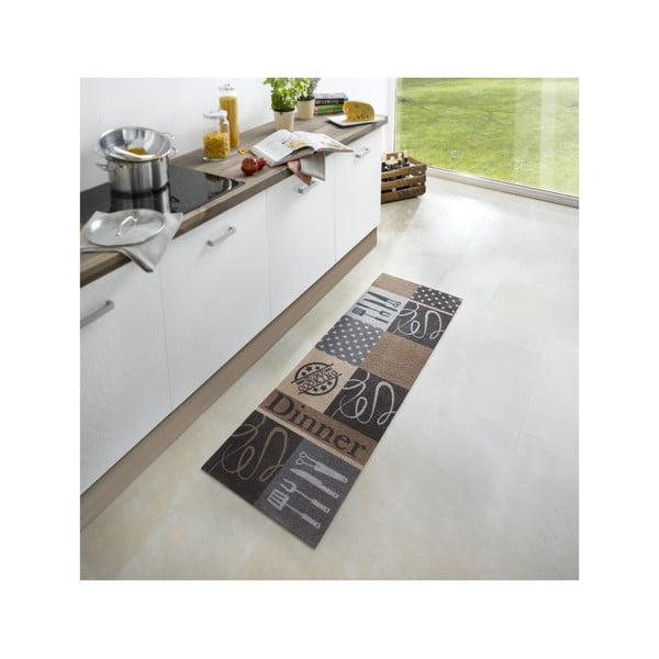 Kuchyňský koberec Dinner, 50x150 cm