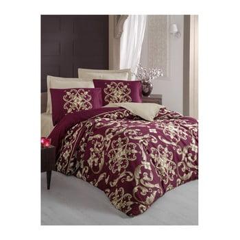 Lenjerie de pat și cearșaf pentru pat dublu Taylor, 200 x 220 cm de la Cotton Box