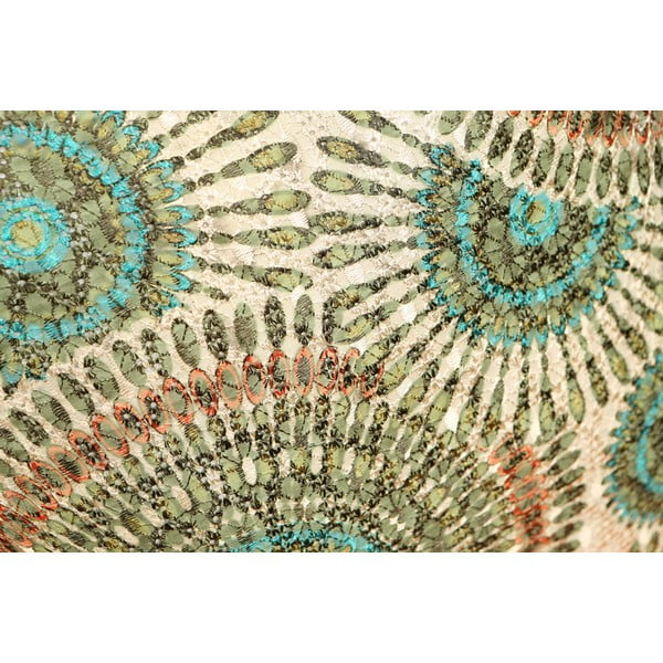 Polštář Green Rosette, 45x45 cm