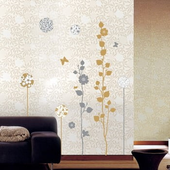 Set autocolante Ambiance Elegang Sand And Grey Trees