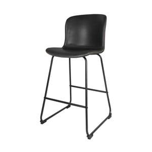 Barová černá židle Interstil Story Bar Stool