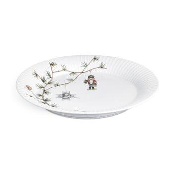 Farfurie din porțelan pentru Crăciun Kähler Design Hammershoi Christmas Plate, ⌀ 27 cm imagine