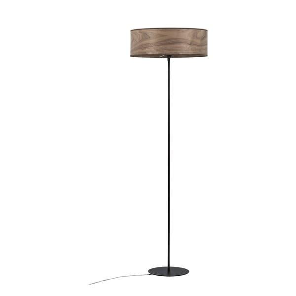 Stojací svítidlo s objímkou ze dřeva ořechu Sotto Luce TSURI XL