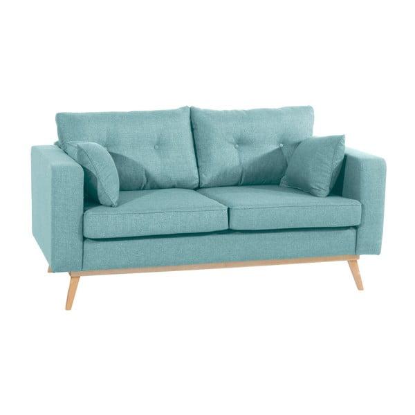 Canapea cu 2 locuri Max Winzer Tomme, albastru deschis