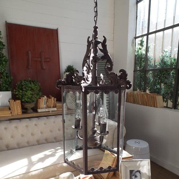 Stropní svítidlo Fiamme Antique, 38x68 cm