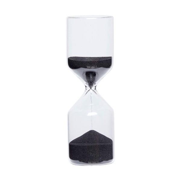 Přesýpací hodiny s černým pískem Hübsch Margie, 30minut