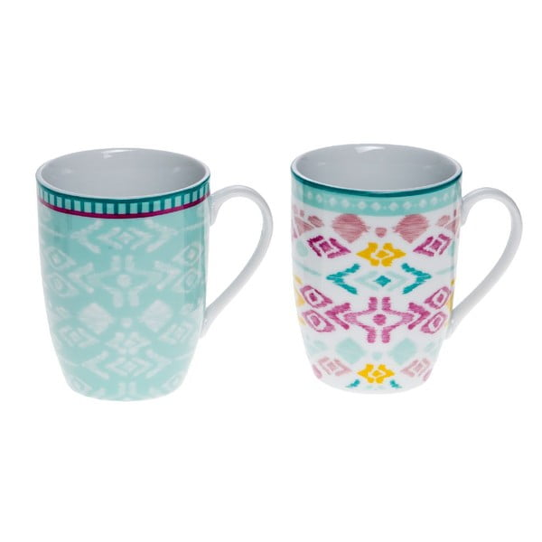 Set 2 hrnků Mint (290 ml)