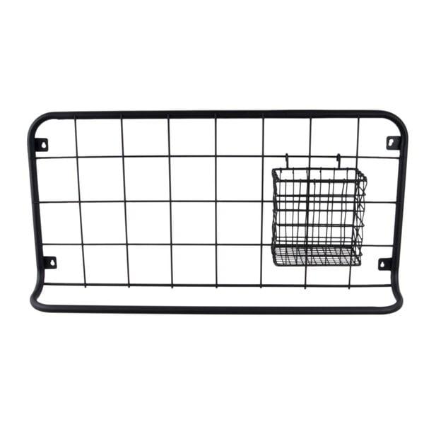 Open Grid fekete fali szervező - PT LIVING