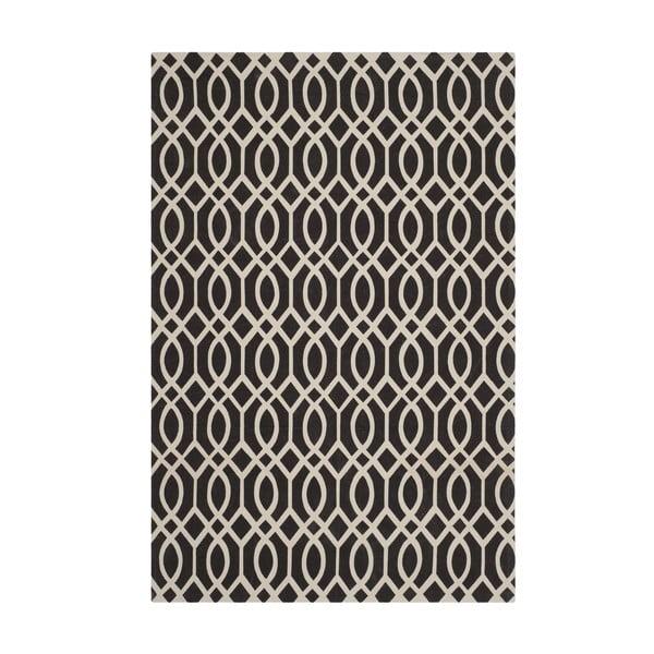 Koberec Salvano 152x243 cm, černý