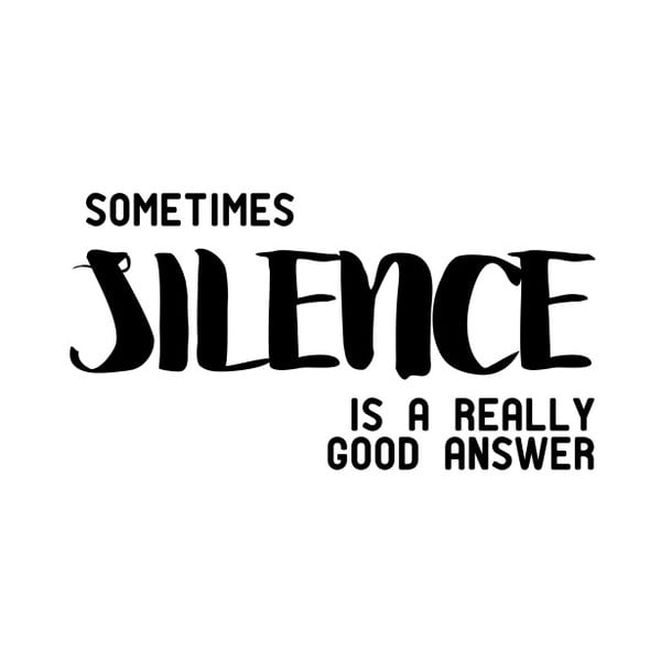 Plakát Nord & Co Silence, 30 x 40 cm
