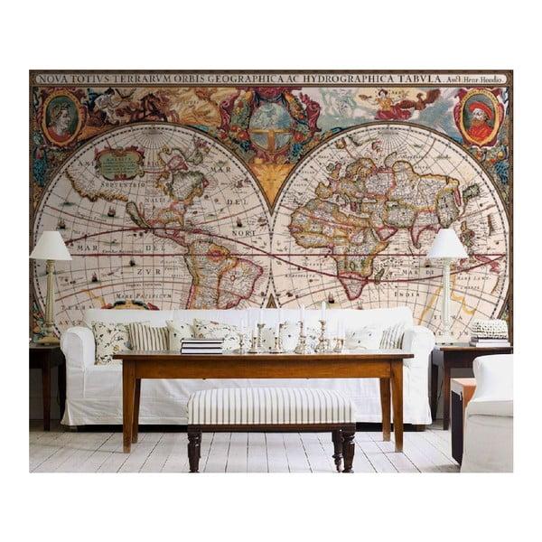 Velkoformátová tapeta Antická mapa, 315x232 cm
