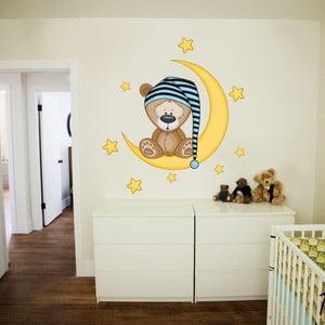 Samolepka na stěnu Spinkáček pro kluky, 70x50 cm