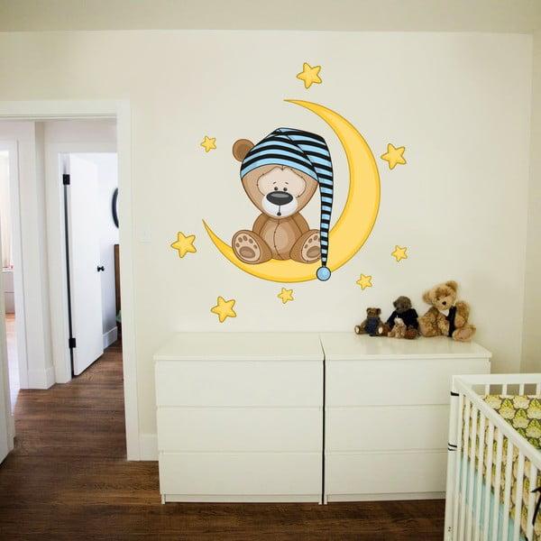 Dekorativní samolepka na zeď Spinkáček pro kluky
