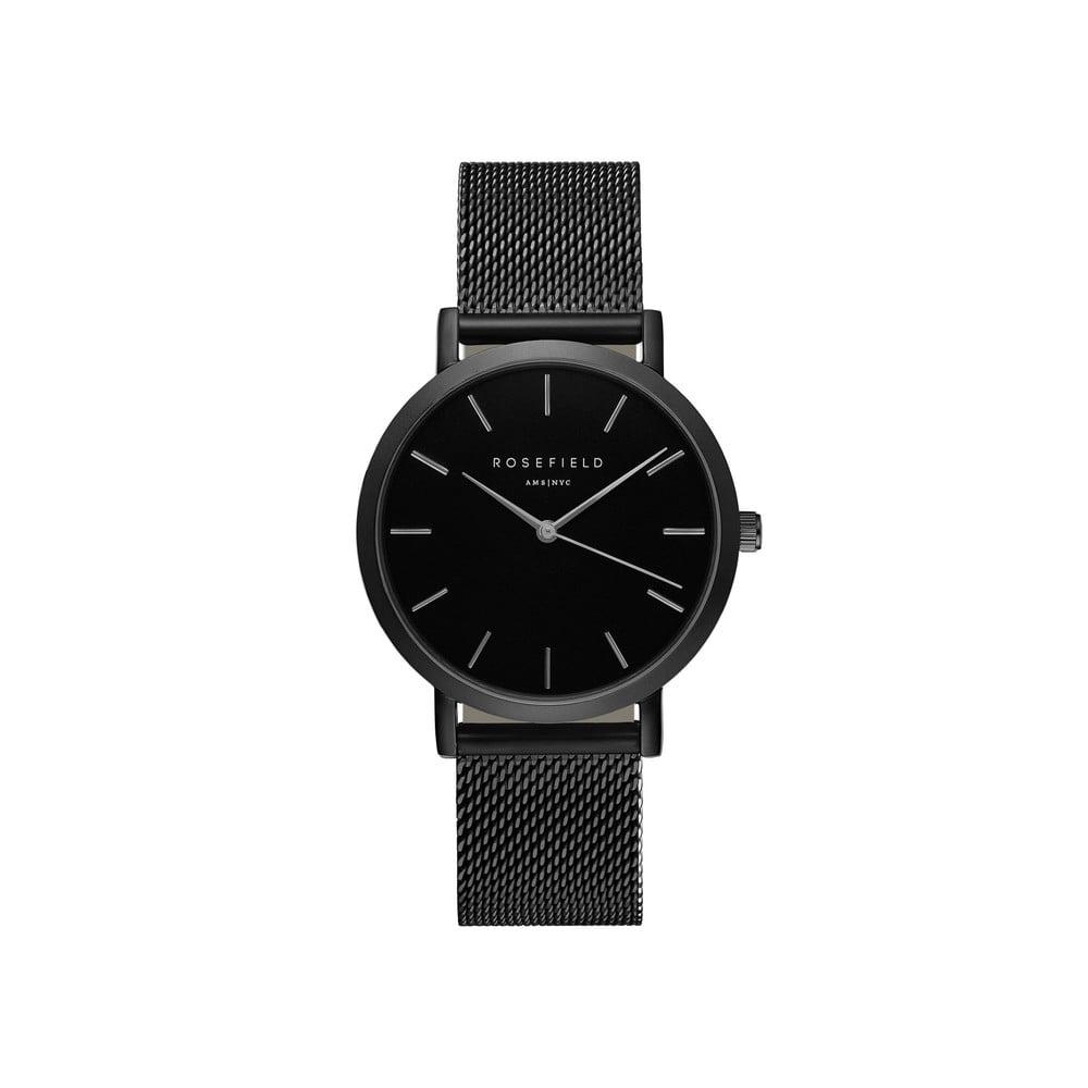 Černé dámské hodinky Rosefield The Mercer 0bdc96bb6d