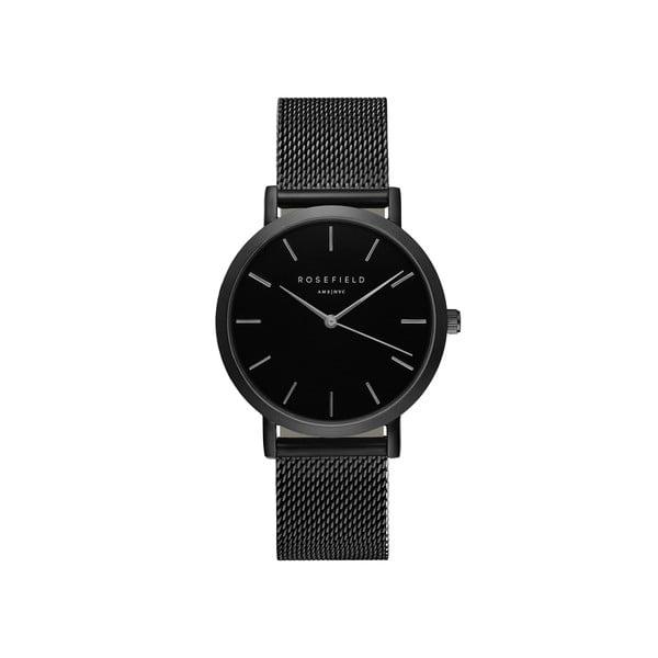 Černé dámské hodinky Rosefield The Mercer