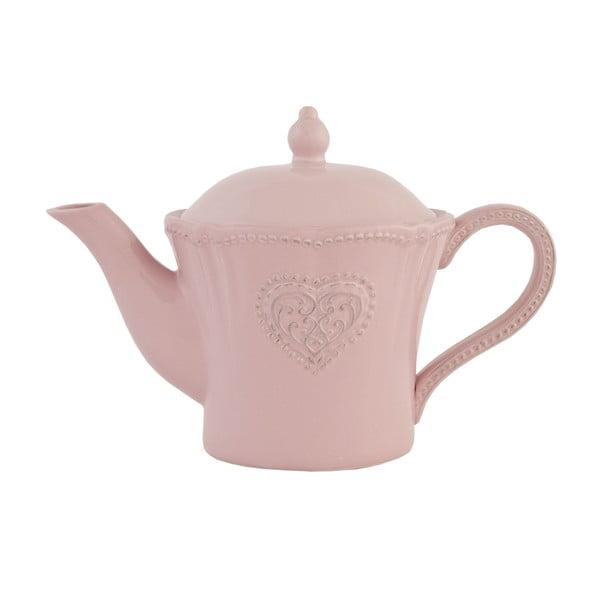Keramická čajová konvice Clayre Roses, 900 ml