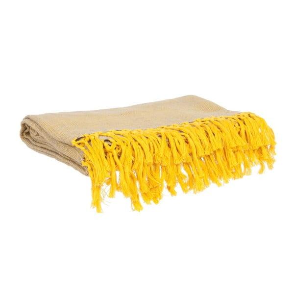 Deka Weaved Raster Yellow, 170x130 cm