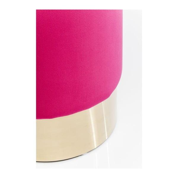 Taburet Kare Design Cherry, roz