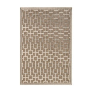Hnědý koberec vhodný i na ven Botany, 115x165cm