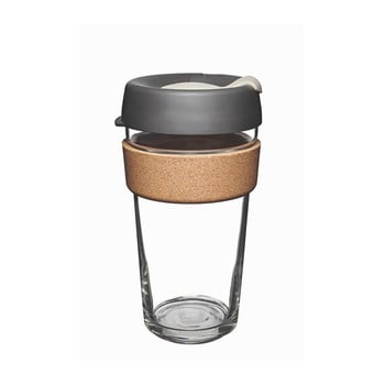 Cană de voiaj cu capac KeepCup Brew Cork Edition Press, 454 ml de la KeepCup
