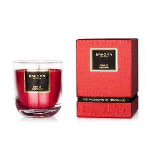 Vonná svíčka Bahoma Luxury Vánoční nálada, 75 hodin hoření
