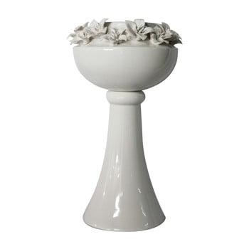 Vază din ceramică Mauro Ferretti Lilium, înălțime 39 cm, alb de la Mauro Ferretti