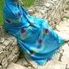 Hamam osuška Batik Turquoise, 85x150 cm