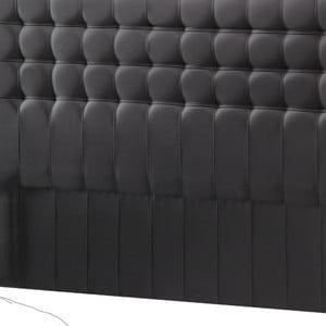 Tmavě šedé čelo postele Novative Sylphyde, 180 x 118 cm