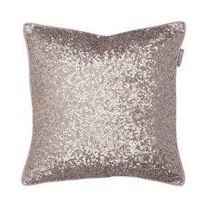 Růžový polštář Walra Glitter, 45x45cm