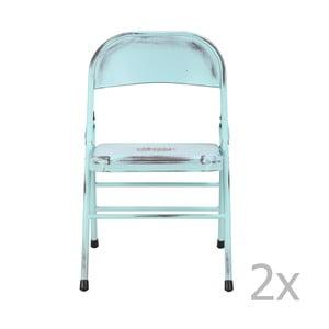 Sada 2 modrých židlí Red Cartel Telma