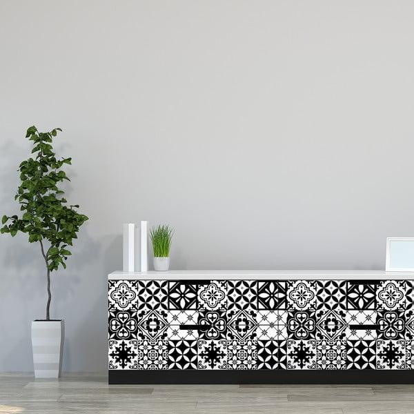 Eviana 30 darabos matrica készlet, 15 x 15 cm - Ambiance