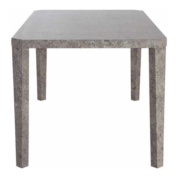 Jídelní stůl v dekoru betonu Støraa Argos, 90x160cm
