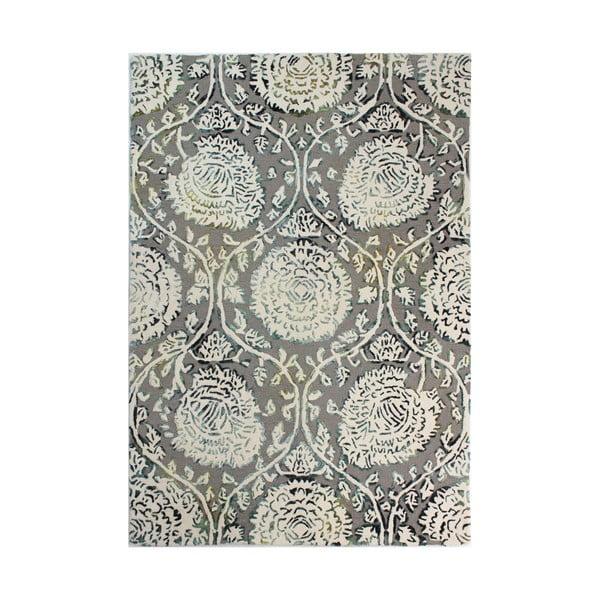 Šedý ručně tkaný koberec Flair Rugs Soho Vega, 200x290cm