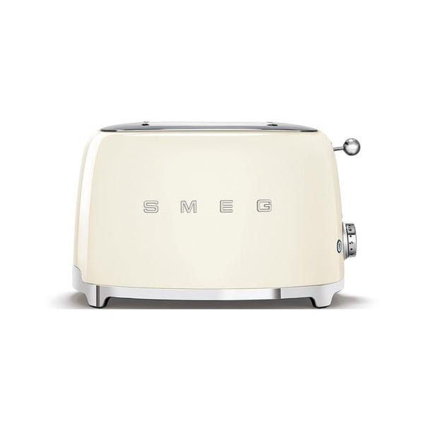 Kremowy toster SMEG