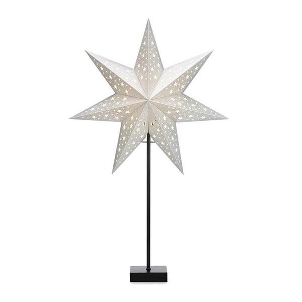 Dekoracja świetlna w srebrnej barwie Markslöjd Solvalla, wys. 69 cm